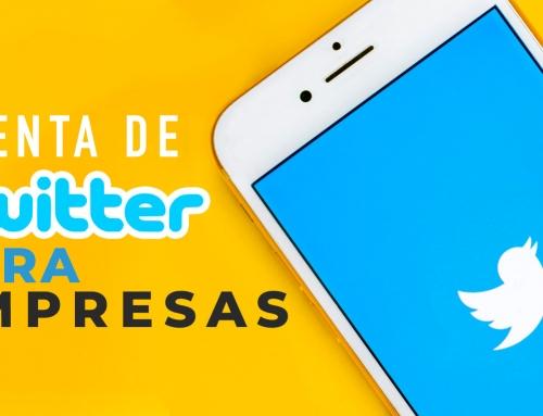 Cuenta de Twitter para Empresas