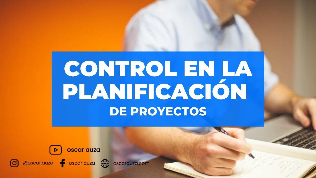 Control en los proyectos
