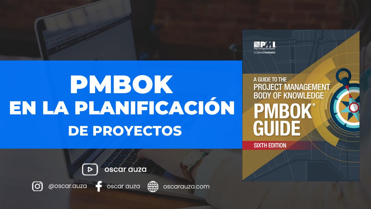 pmbok proyectos
