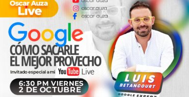 Herramientas de Google para las empresas Luis Betancourt