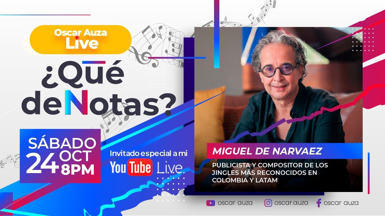 Musica Publicitaria y Jingles con Miguel de Narvaez